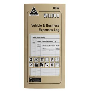 Wildon Vehicle & Business Expenses Log 86W