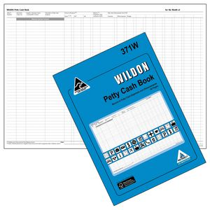 Wildon 371W Petty Cash Book