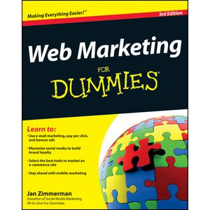 Web Marketing For Dummies Book