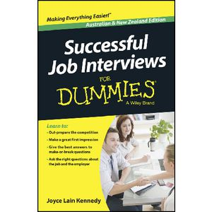 Wiley Successful Job Interviews For Dummies Book