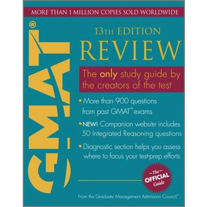 Wiley GMAT Review Official Guide Book