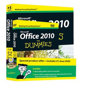 Microsoft Office 2010 for Dummies & DVD