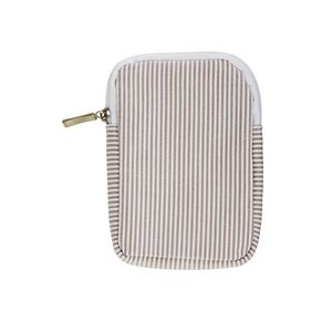 X Cotton Multimedia Pouch Beige
