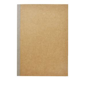 X B5 Kraft Ruled Notebook 60 Page