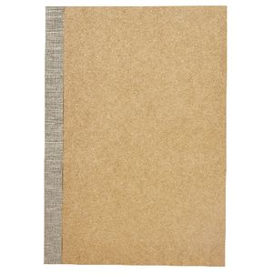 X A5 Kraft Ruled Notebook 60 Page