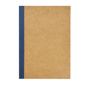 X B6 Kraft Grid Notebook 60 Page