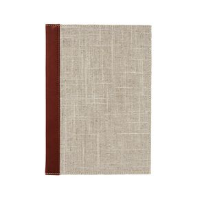 X A5 Ruled Notebook Linen 192 Page
