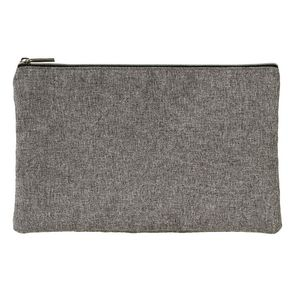 X PET Recycled Pencil Case Grey