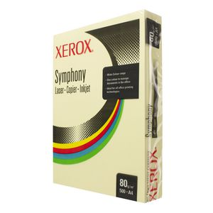 Fuji Xerox Symphony Pastel Tints Paper 80gsm A4 Yellow