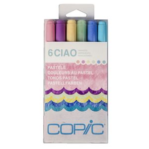 Copic Ciao Markers Pastel 6 Pack