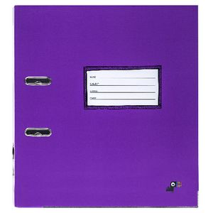 Yoobi Lever Arch File Purple