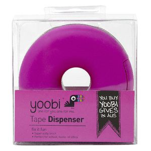 Yoobi Donut Tape Dispenser Pink