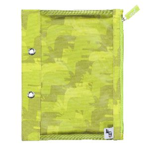 Yoobi Binder Zip Case Camo Green
