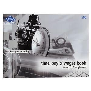 Zions Time, Pay and Wages Book 6 Employees