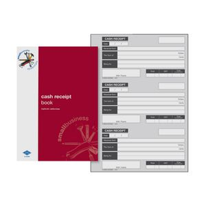 Zions SBE5 A5 Cash Receipts Book
