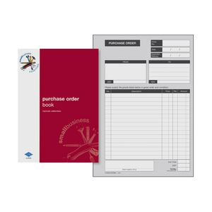 Zions SBE6 A5 Purchase Order Book