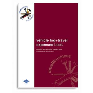 Zions SBE10 Vehicle Log and Expenses Book