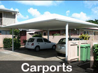 Steel Post & Rail - Carports