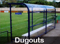 Steel Post & Rail - Dugouts