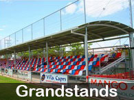 Steel Post & Rail - Grandstands