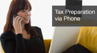 Tax Preparation via Phone