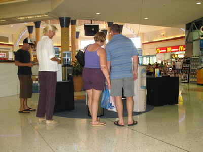 Water Coolers display in Brisbane