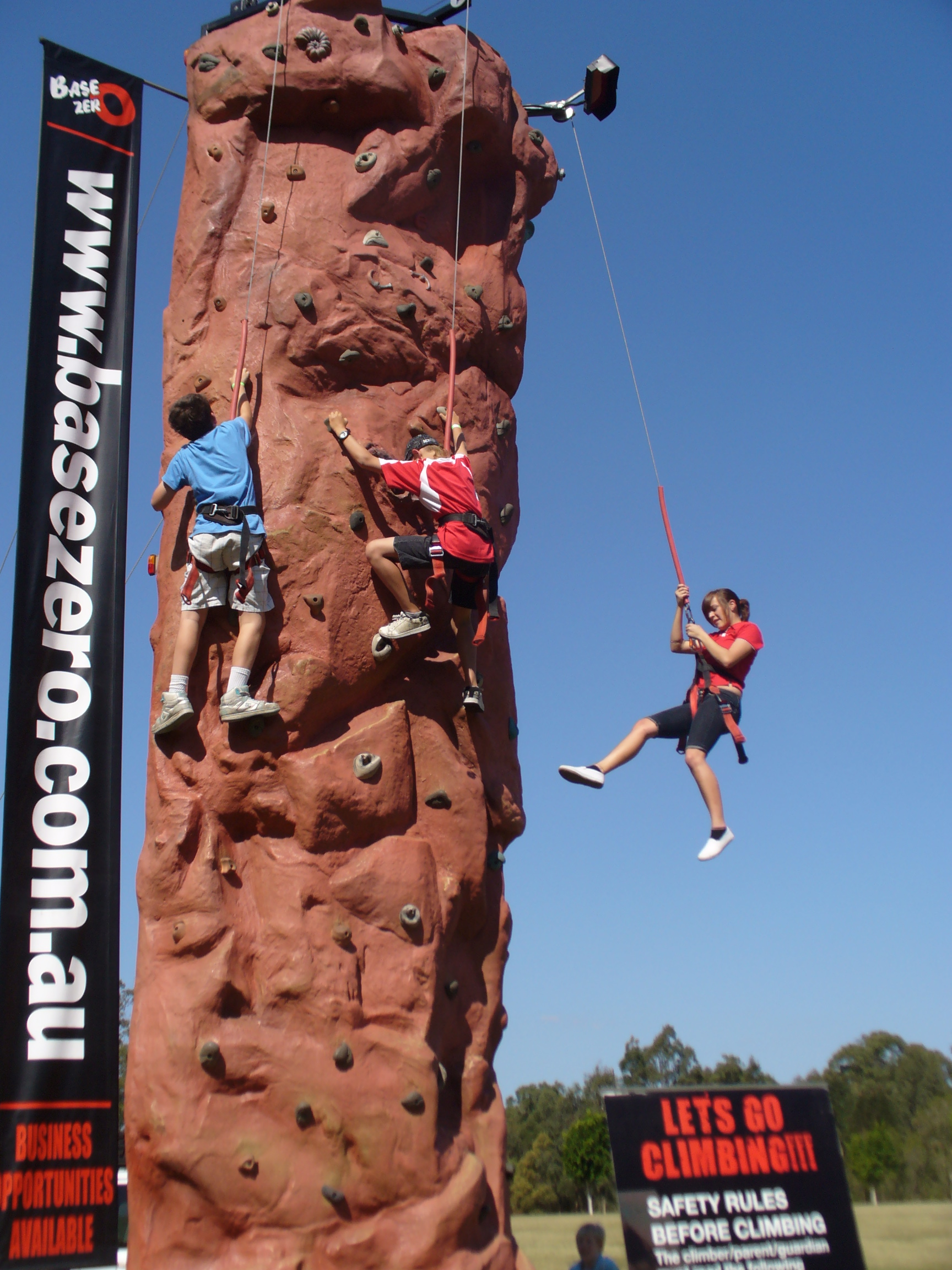 rock climbing in Sydney for kids