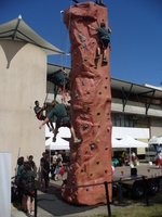 rock climbing walls school activities brisbane