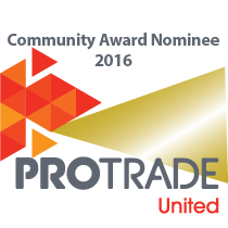 We are very proud of community award nomination