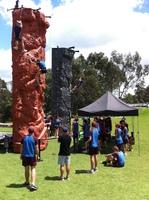 Rock Climbing indoor outdoor school recreational reward activity Sydney and Brisbane