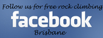 follow us for free rock climbing events