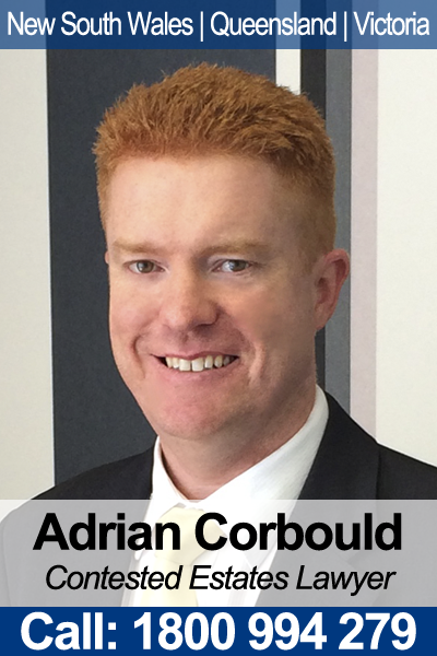 Adrian Corbould - Contested Wills & Estates Lawyer in NSW, QLD & VIC