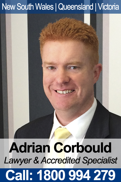 Adrian Corbould - Wills & Estates Lawyer in NSW