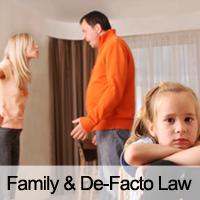 Family & De Facto Law
