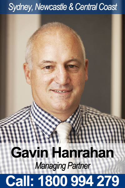 Gavin Hanrahan - Business Lawyer Sydney, Newcastle & Central Coast