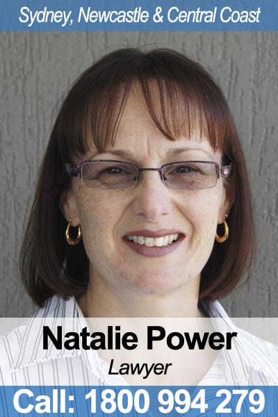 Natalie Power - Wills Lawyer in NSW