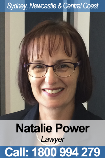 Natalie Power - Wills & Estates Lawyer in NSW