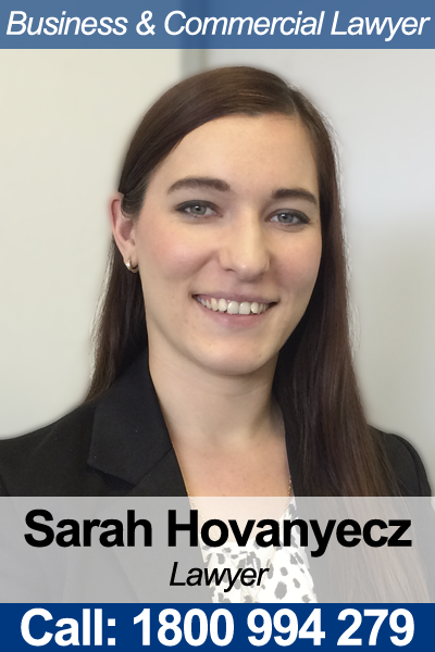 Sarah Hovanyecz - Employment Lawyer