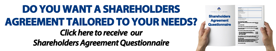 Shareholders Agreement Questionnaire