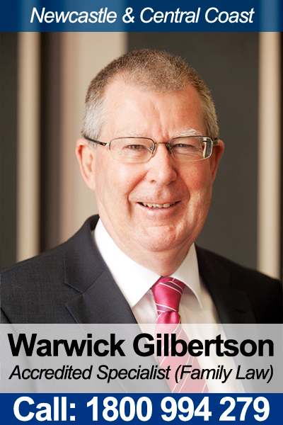 Warwick Gilbertson - Family Law Accredited Specialist