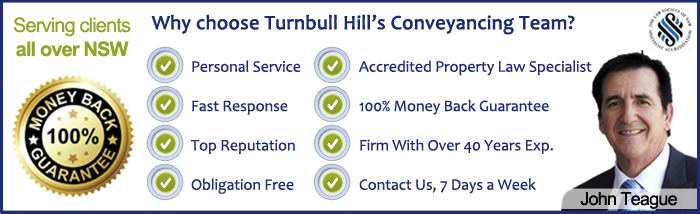 Why Choose Turnbull Hill Conveyancing Lawyers