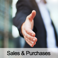 Sales & Purchases - Acquisitions, Disposals & Mergers