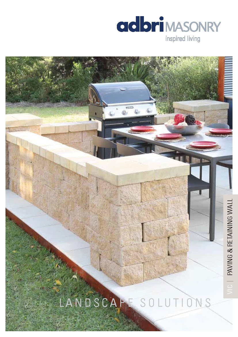 retaining wall brochure