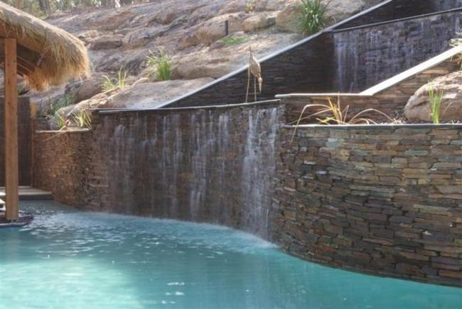 Pool Wall Cladding : Luxury stone imports natural suppliers