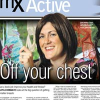 Dr Lily Vrtik in MX Magazine