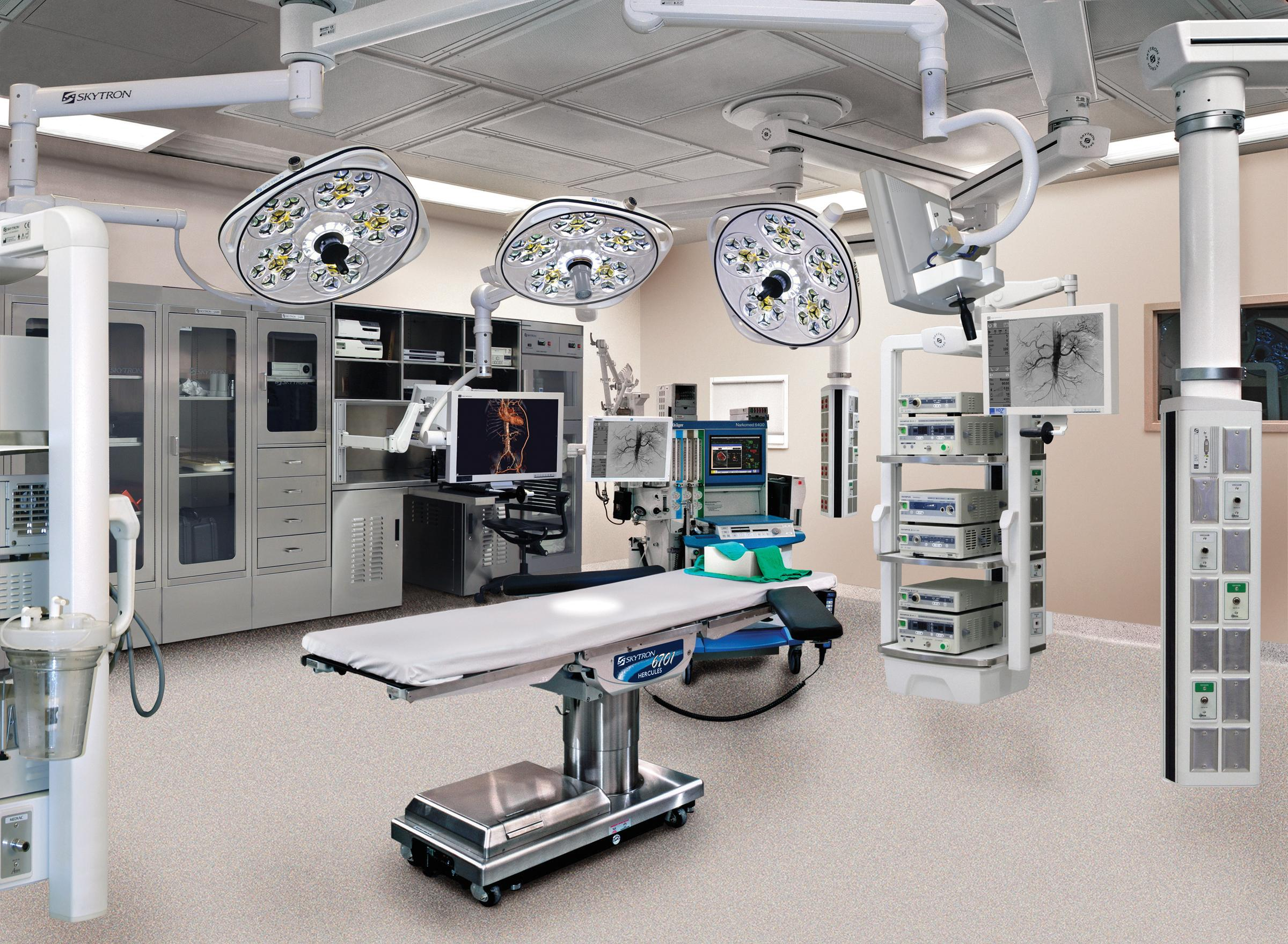 Operating Tables Patient Positioning Lighting And Anti