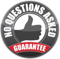 No Questions Asked Guarantee