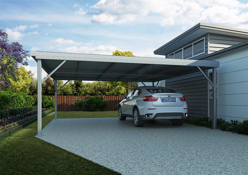 Flat Roof Carport Kits Steel Carports For Sale