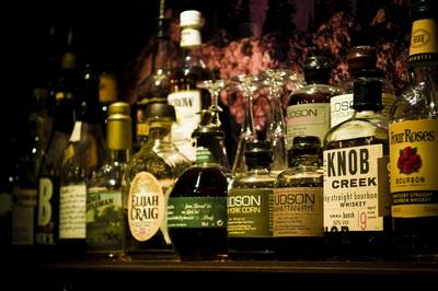 The best Bourbon selection at The Kodiak Boubon Bar in Melbourne