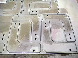 Water jet cutting - stainless steel, copper, brass, tile, perspex cutting with waterjet